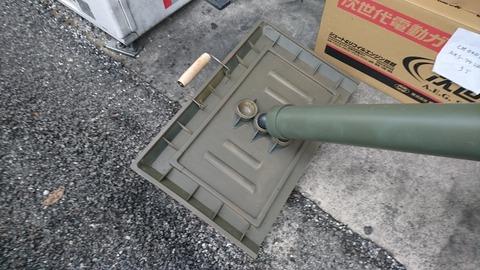 81mm M1中迫撃砲4