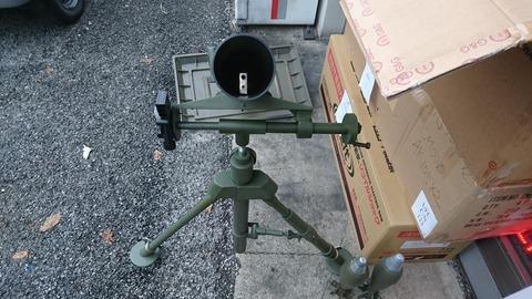 81mm M1中迫撃砲3
