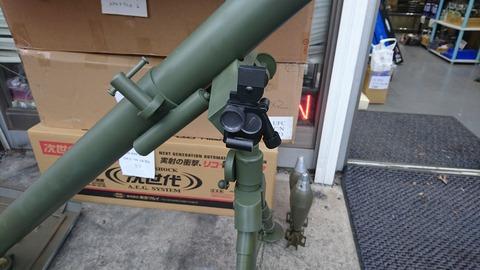 81mm M1中迫撃砲5
