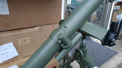 81mm M1中迫撃砲8